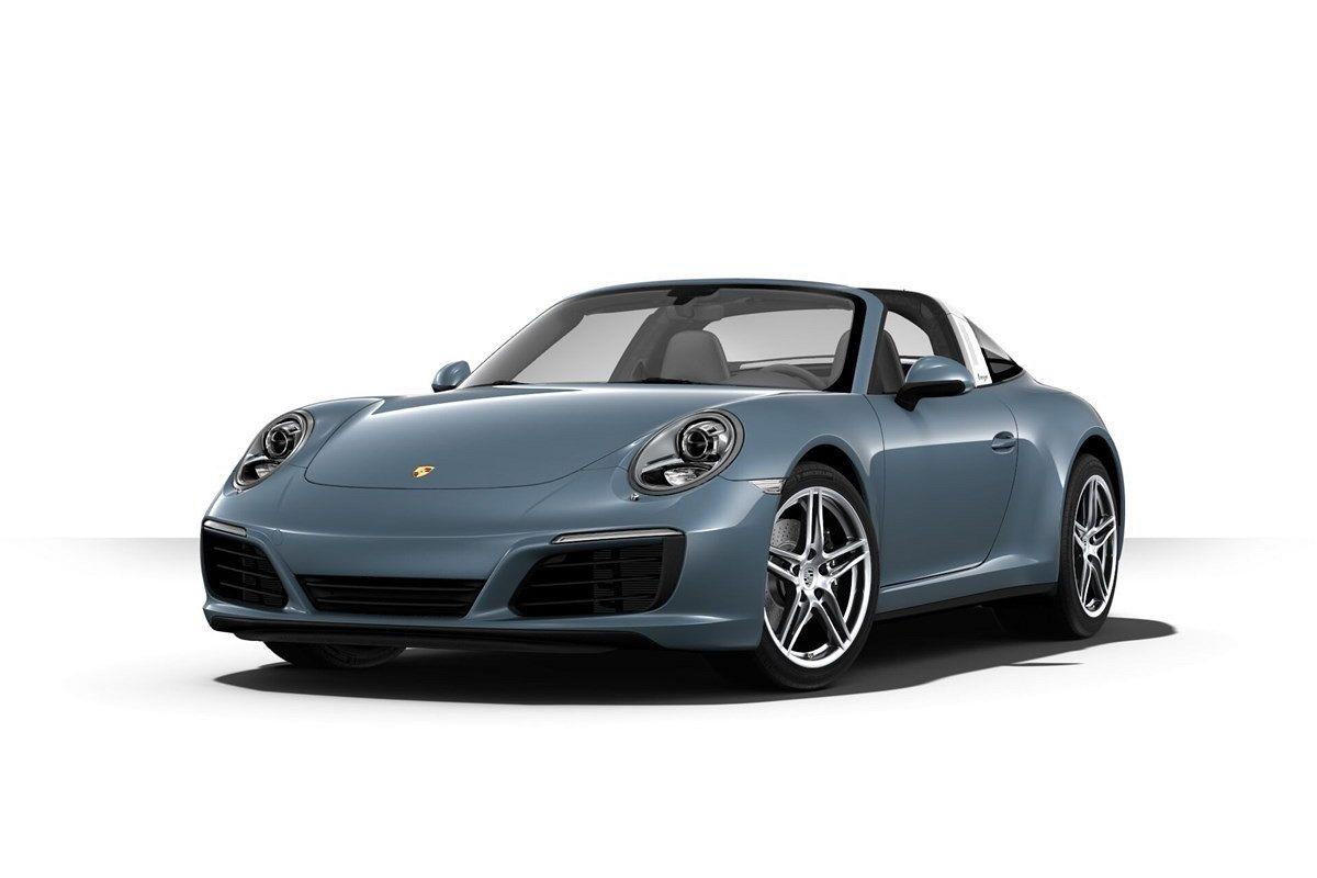 Posteriore DFC Porsche Cayenne Kit Porta Targa Auto Cromato Anteriore