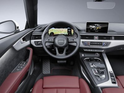 Listino nuovo Audi A5 II 2017 Cabriolet