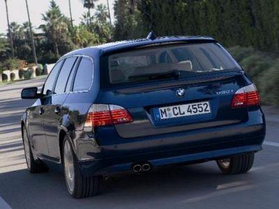 Listino nuovo BMW Serie 5 E61 2007 Touring